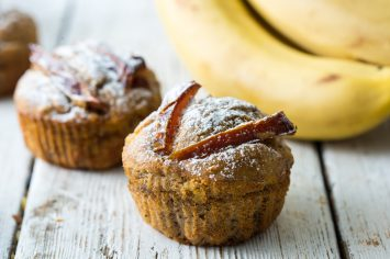 מאפינס בננה בריאים של שר פיטנס