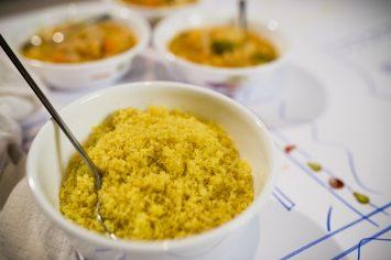 קוסקוס צהוב בסגנון מרוקאי