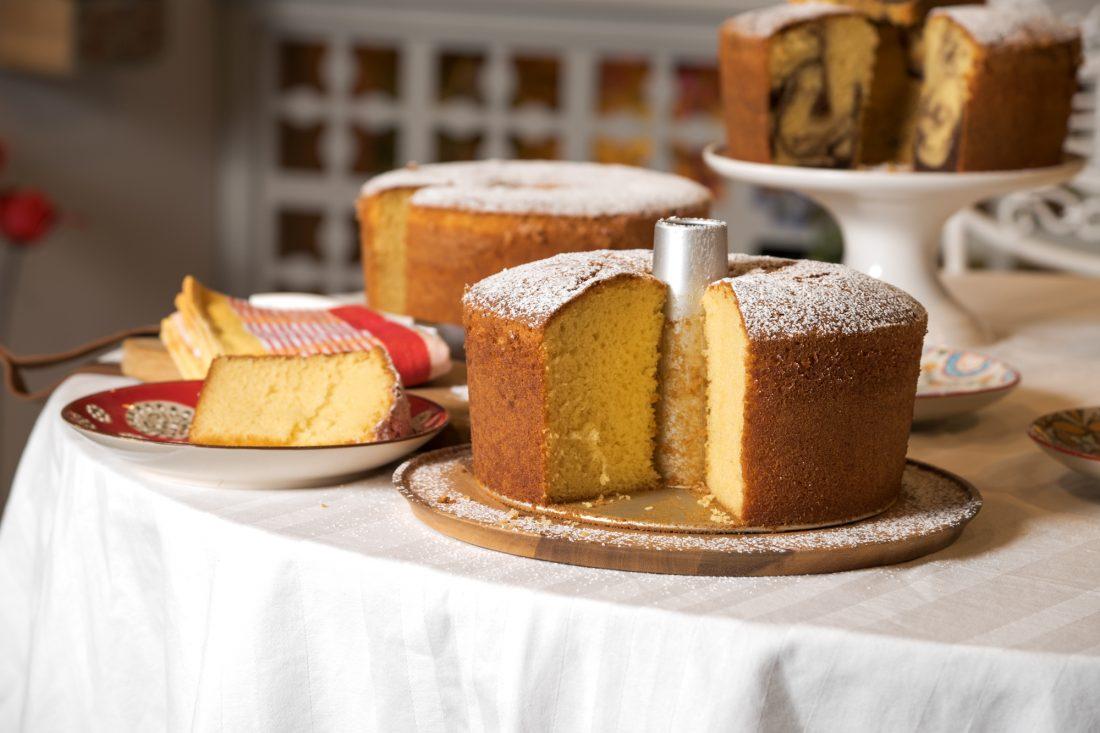 עוגת תפוזים גבוהה