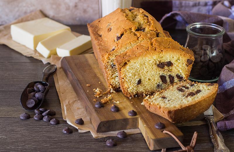 עוגת שוקו-וניל עם מקופלת. צילום: שאטרסטטוק