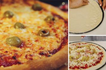 פיצה ביתית מושלמת של קרין גורן