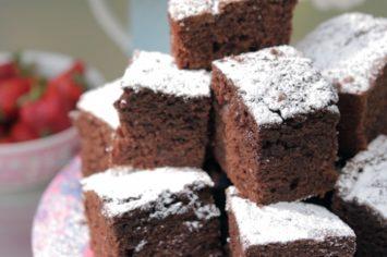 עוגת שוקולד ענקית שילדים מאוד אוהבים