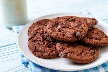 עוגיות שוקולד מושחתות לפסח