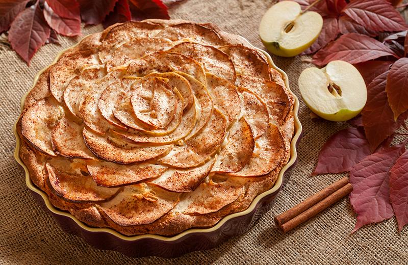 פאי תפוחים צרפתי. צילום: שאטרסטוק