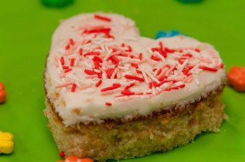 סוכריות עוגה על מקל