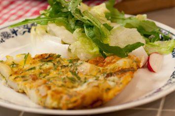 טורטיה ספרדית - פשטידת תפוחי אדמה וביצים