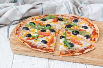 פיצה טורטיה ב-10 דקות