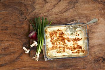 יונית חוגגת שבועות עם מתכון מושקע של קנלוני במילוי פטריות וגבינות