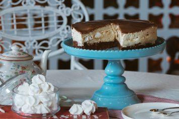 עוגת קרם קפה עם נשיקות מרנג - העוגה המתגלצ'ת
