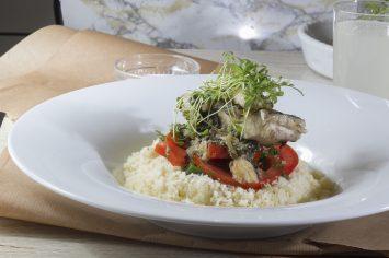 תבשיל דגים לימוני עם המון ירוקים