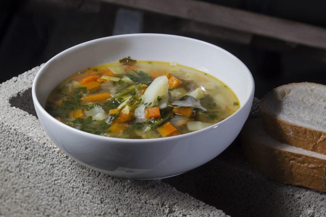 מרק ירקות שמחמם את הבית