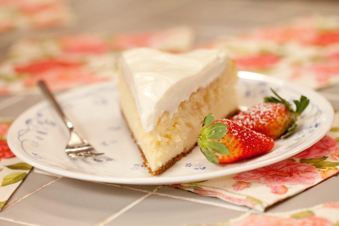 עוגת גבינה אפויה של פעם