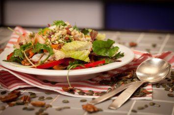 סופר סלט - סלט ירקות, שורשים וקטניות