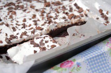 בראוניז שוקולד וגבינה של איילת הירשמן