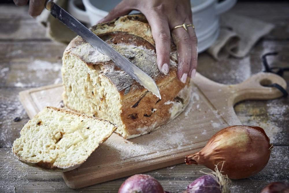 לחם בצל. צילום: אפיק גבאי
