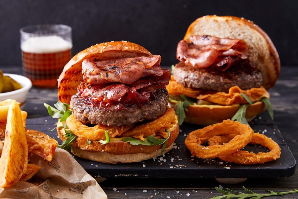 המבורגר פלאוון. צילום: אפיק גבאי