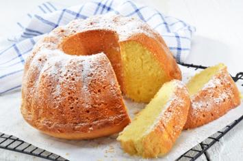 גבוהה, זריזה ומהממת - עוגת ספוג תפוזים בלי הפרדת ביצים!