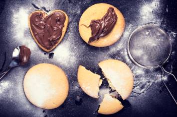 עוגיות חמאה ודבש עם הפתעה