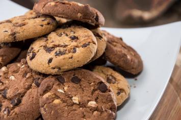 עוגיות ממרח שוקולד שילדים אוהבים להכין ולאכול