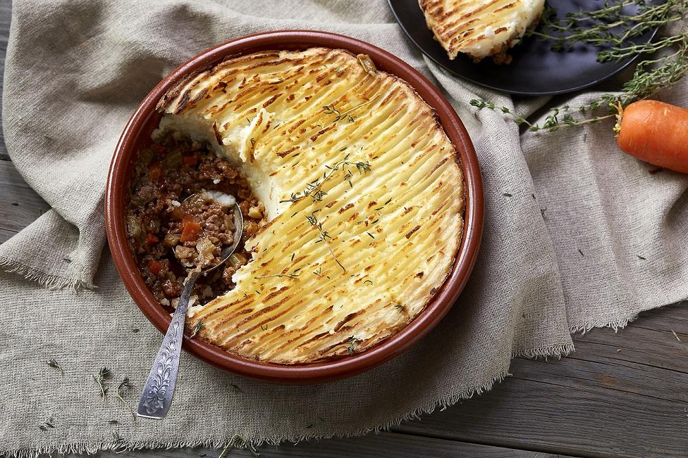פאי רועים - מאפה בשר עם פירה תפוחי אדמה. צילום: אפיק גבאי