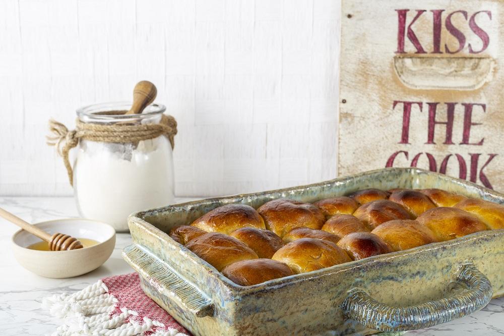 """לחם דבש """"תלושותי"""" שמכינים בקלי קלות. צילום: שני הלוי"""
