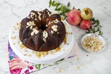 עוגת דבש וקפה לראש השנה מתוק במיוחד