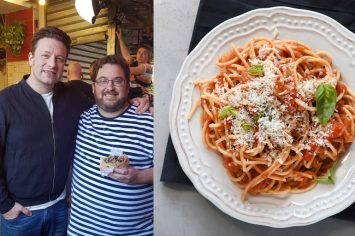 המתכון המושלם של ג'יימי אוליבר לספגטי ברוטב עגבניות
