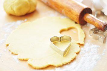 עוגיות לב בתוך לב