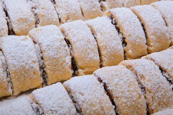 עוגיות מהירות עם תמרים ואגוזים וקינמון