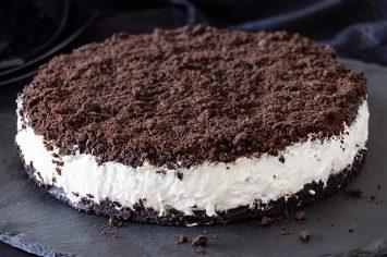 עוגת גבינה פירורי אוריאו