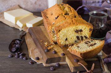 עוגת שוקו-וניל עם מקופלת