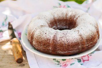עוגת שמנת וקינמון