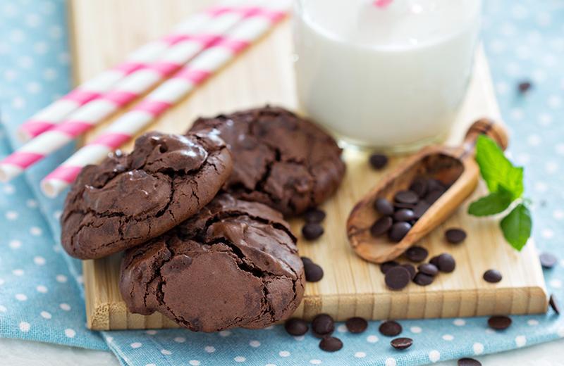 עוגיות שוקולד למכורים בלבד. צילום: שאטרסטוק