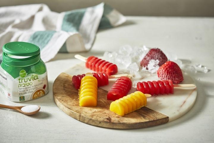 TRUVIA סורבה פירות (צילום: אפיק גבאי)