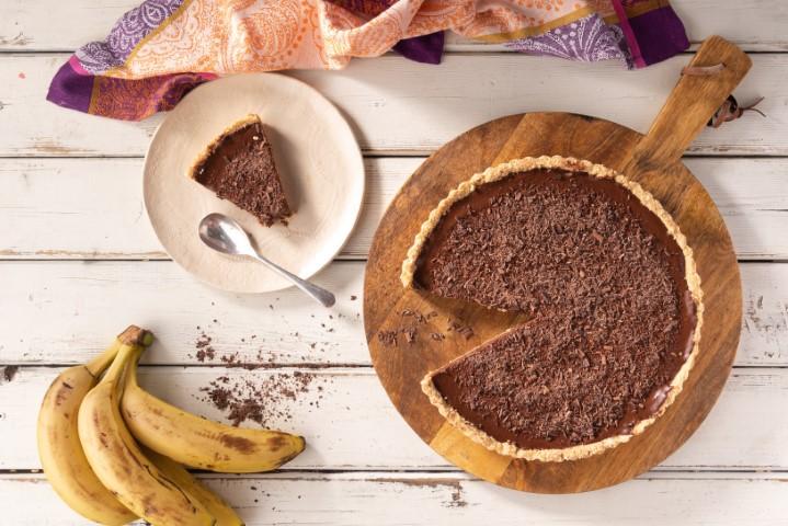פאי שוקולד בננה נינג'ה (צילום: אפיק גבאי)