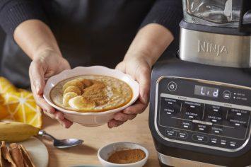 דייסת שיבולת שועל עם בננה, מייפל וקינמון ב-5 דקות הכנה