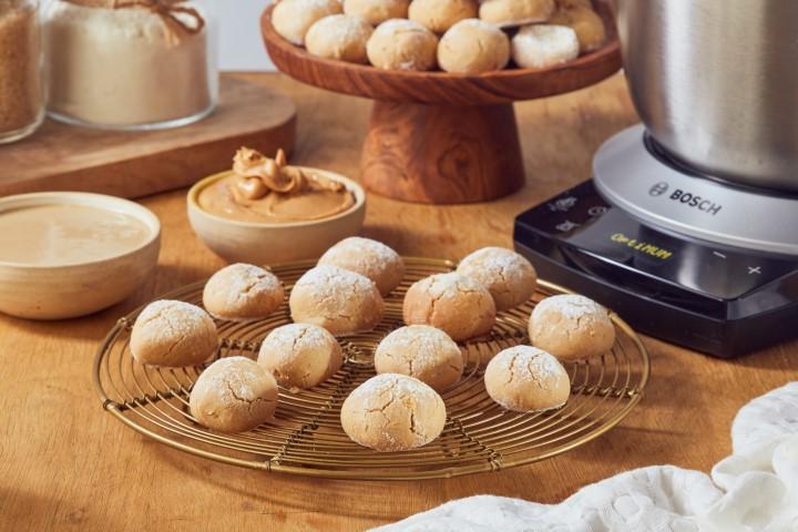 עוגיות טחינה בוש (צילום: שניר גואטה)