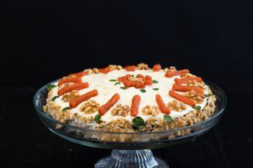עוגת גזר שאי אפשר להפסיק לכרסם - המתכון של אסתר עמר