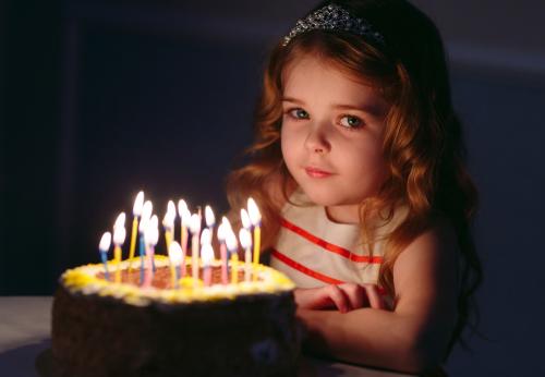 עוגת יום הולדת שוקולד