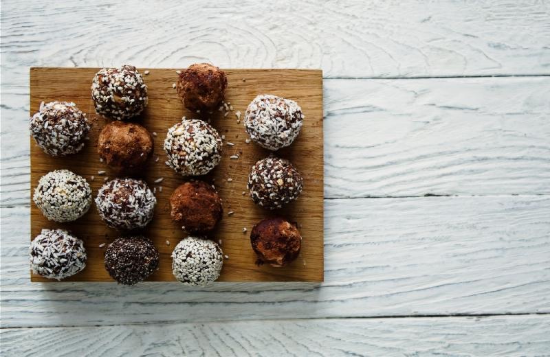 כדורי שוקולד מדהימים בצ`יק. צילום: שאטרסטוק