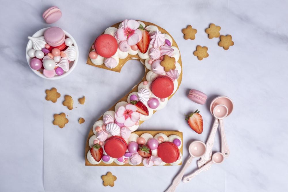 עוגת מספרים מושלמת. צילום: שני הלוי