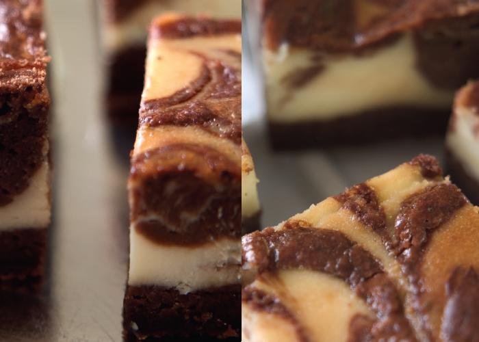בראוניז שוקולד גבינה. צילום: דניאל לילה