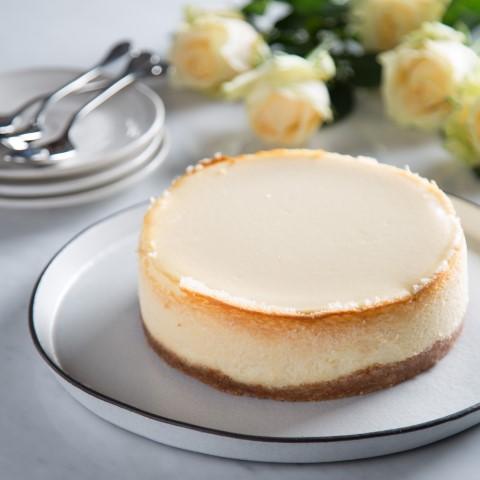 """עוגת הגבינה הכי מפורסמת בעיר של ה""""קופי בר"""". צילום: עידית בן עוליאל"""