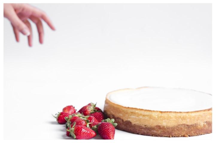 עוגת גבינה אפויה של דלאל. צילום: פזית עוז