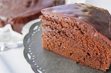 עוגת שוקולד יום הולדת קלה ומהירה