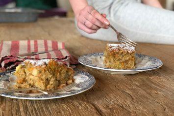 לא רק לשפן הקטן - עוגת תפוגזר נפלאה במיוחד