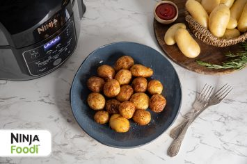 תפוחי אדמה שחומים עם רוזמרין