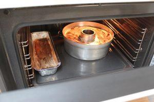 העוגה בתנור