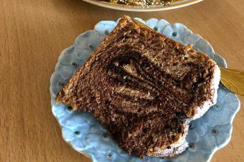 עוגת השבת שלכם – עוגת שיש במרקם עננים