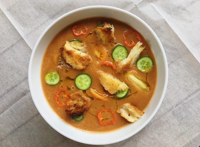 גספצ׳ו - מרק עגבניות קר
